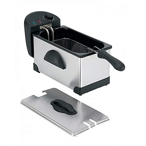Electric Deep Fryer -Polished Stainless Steel