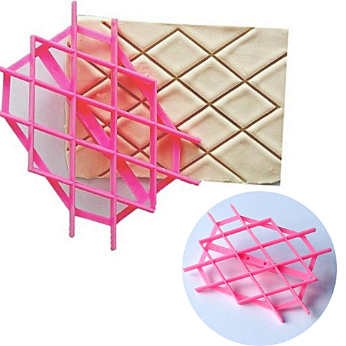 Fondant Cutter Fondant Embosser PP Kitchen Accessories Handmade Cake Mould Decoration Tool