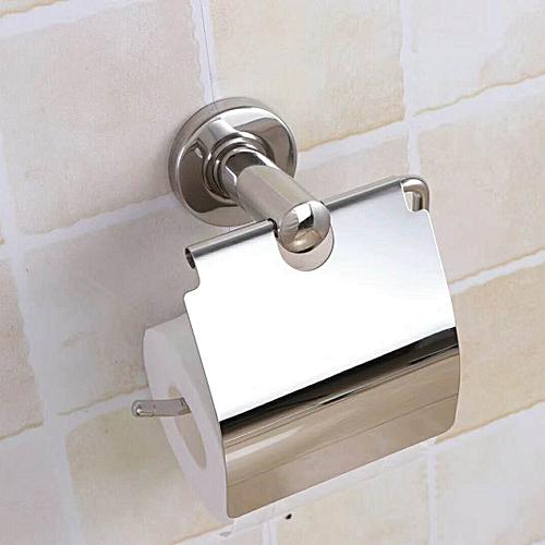 Bathroom Roll Tissue Box Toilet Paper Holder Stainless Steel