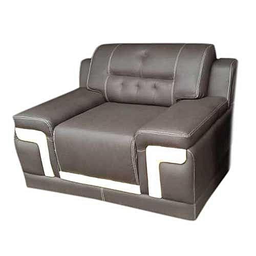 Elegant Grey Leather 7 Seater Sofa Set. ( Lagos Only)