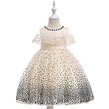7a7628761f7e Kids Party Tulle Dress Girl Lace Clothes