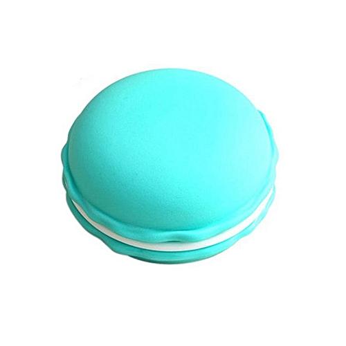 2PCS Colorful Mini Macarons Shaped Storage Box Candy Color Jewelry Organizer