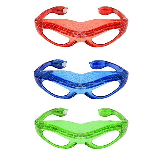 Spider 3 Modes Adjustable LED Flash Glasses For Bar Night Club Party Decor