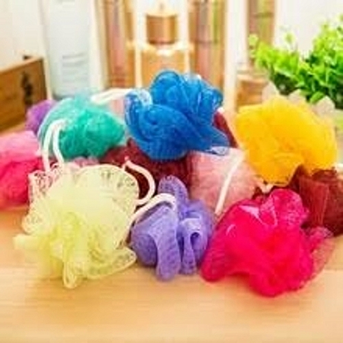 12 Resalable - Multi Purpose - Bathing Sponge + 4 Soap Cases
