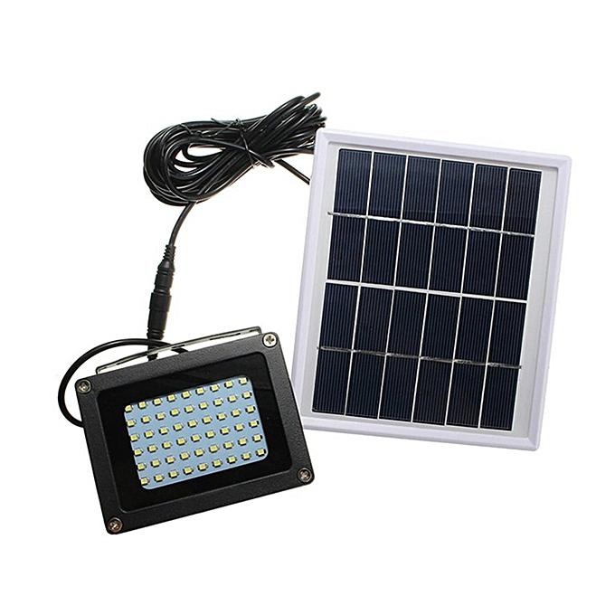 54 LEDs Floodlight Solar Sensor Lamp Waterproof Outdoor Street Flood Light