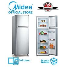 Midea Double Door Defrost Refrigerator - 207 Litres