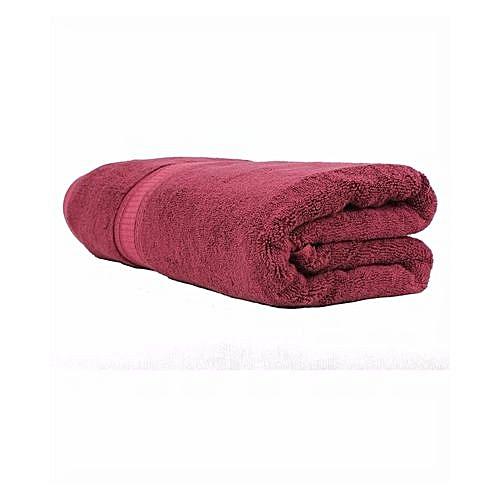 Lush Cotton Bath Towel (XXL) - Wine