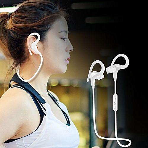 Bluetooth Headset Wireless Sports Ear Hook Headphone