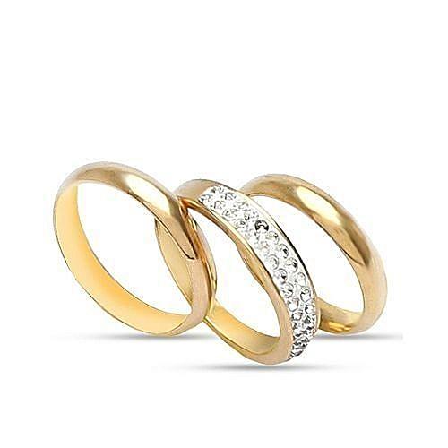 Unique Wedding Ring.Unique Wedding Ring Set Of 3