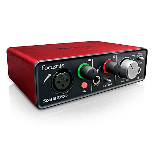 SCARLETT-SOLO-2ND-GEN Audio Interface