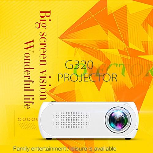 GIGXON HD 1080P LED Multimedia Projector Home Theater Cinema