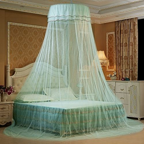Bed Mosquito Net Fly Insect Protection Curtain Dome - Green