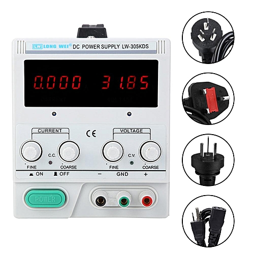 Dc Power Supply LW-305KDS Stabilized Voltage Regulated Power Supply 30V/5A Volt Power Supply