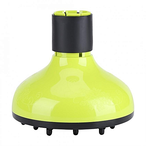 Plastic Hair Dryer Diffuser Cover Hairdressing Tool For 42-48mm Blow Dryers Green