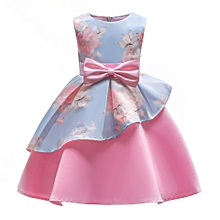 397e6423537f Summer Dress Girl Fancy Flower Girl Dresses For Carnival Party Child  Princess Dress Girls 3 4