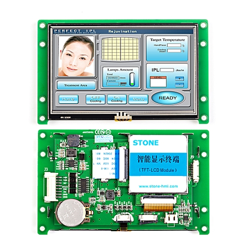 """4.3"""" Readable TFT LCD Touch Screen"""