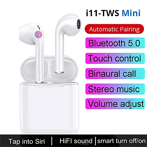 I11s Bluetooth Earbuds Wireless Headphones Stereo Headsets