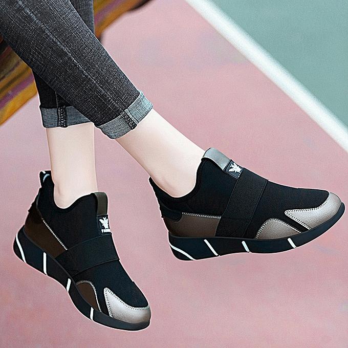 9b187da43b6 Sneakers Female Korean Ulzzang Spring 2018 New Korean Wild Harajuku Red Net  Pregnant Women Breathable ShoesLeaden