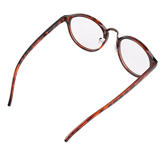 56db10fd608 Fashion Retro Geek Vintage Nerd Large Frame Fashion Round Clear Lens ...