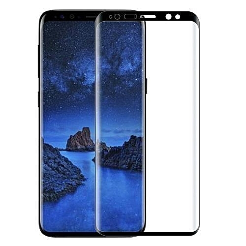 S9 Plus 3D Bobby Black Screen Protector For Samsung Galaxy S9 Plus