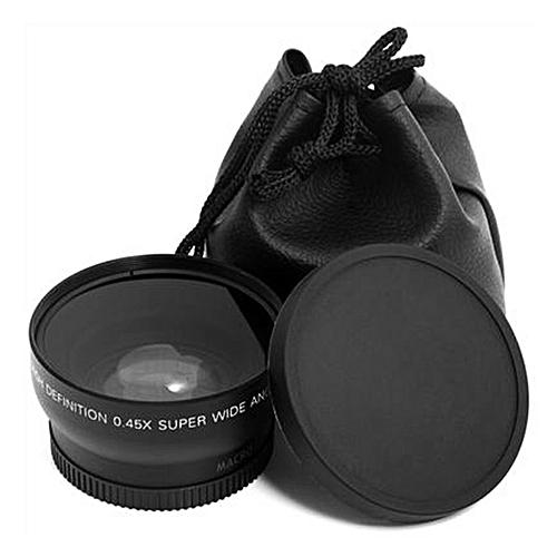 TA 52MM 0.45 X Wide Angle Macro Lens For Nikon D3200 D3100 D5200 D5100