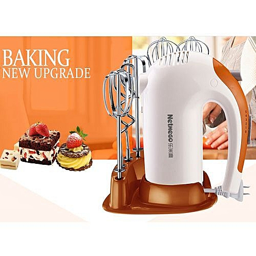 Premium Copper Coil 220V 300W 5 Speed Electric Hand Mixer/Cake Mixer, Replacement Beaters For Kitchen Aid.