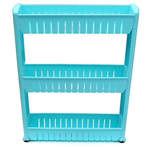 Details About New Moving Rack Kitchen Storage Shelf Wall Cabinets Bedroom Bathroom Organizer Blue