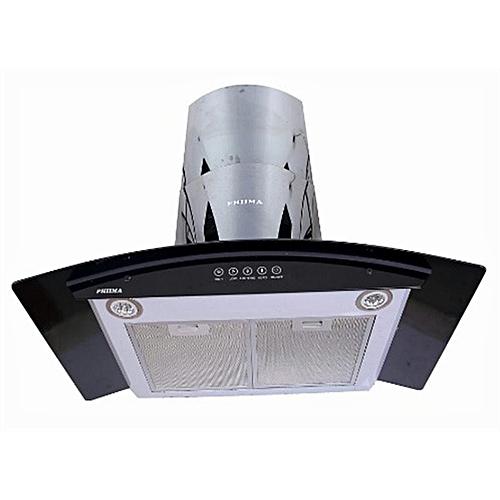 Home Range Hood-C06F 60 Cm Ductless Black