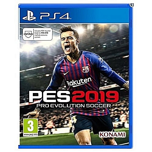 Ps4 Game Pes19