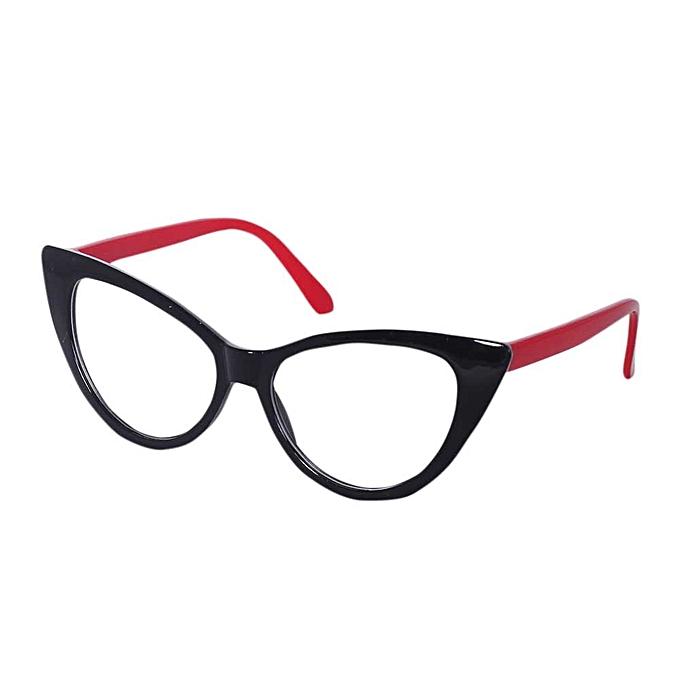 Generic Elegant Design Cat Eyes Shape Glasses Frame For Ladies ...