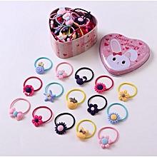 6318445bc0a 40pcs South Korea Princess Children Girl Hair Accessories Baby Hair Band Hair  Clip Head Rope Flower