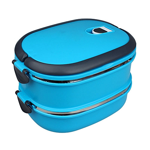 Equivalentt Multilayer Stainless Steel Insulation Lunch Bento Box Food Container BU