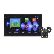 Android 6.0 Bluetooth FM Radio GPS Car Multimedia Player TFT Capacitive Touch Screen - Black