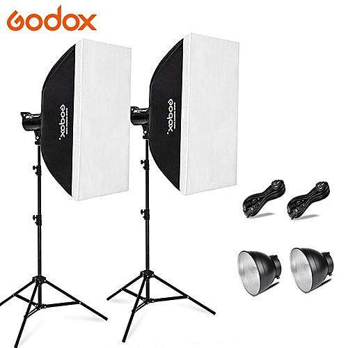 Godox DE-300 Strobe Light With Soft Box