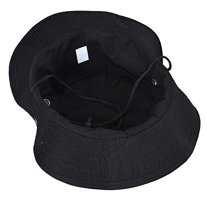 376f77fdf38 ... Bucket Hat Boonie Hunting Fishing Outdoor Wide Cap Brim Military BK ...