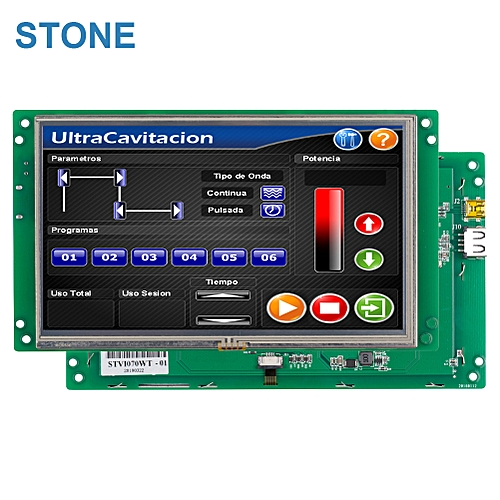 """STONE 7.0"""" TFT Smart Home With Touch Screen RS232 Display"""
