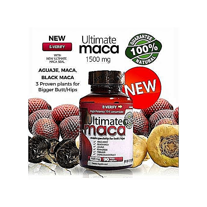 Supplement Ultimate Maca Pills For Bigger Butts And Hips