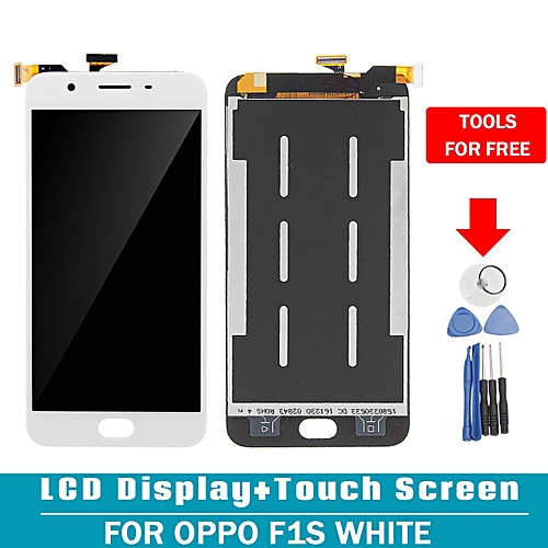 LCD Display Digitizer Touch Screen Glass Assembly For Oppo F1s White