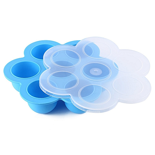 Watermalend Baby Food Storage Containers Lid Reusable Mold Freezer Tray Non Stick Registry