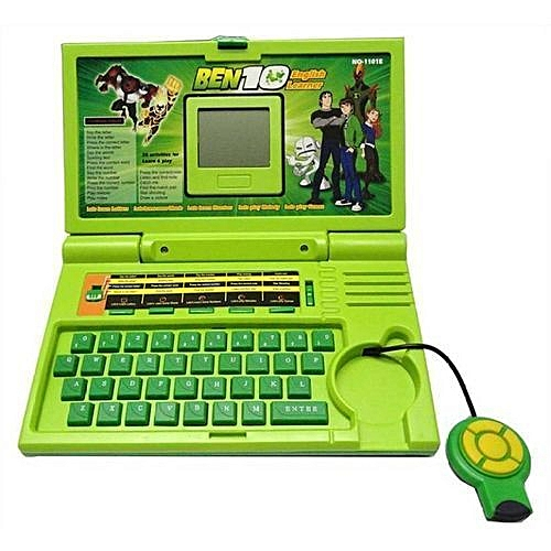 Ben 10 Mini Laptop English Learning Educational Computer