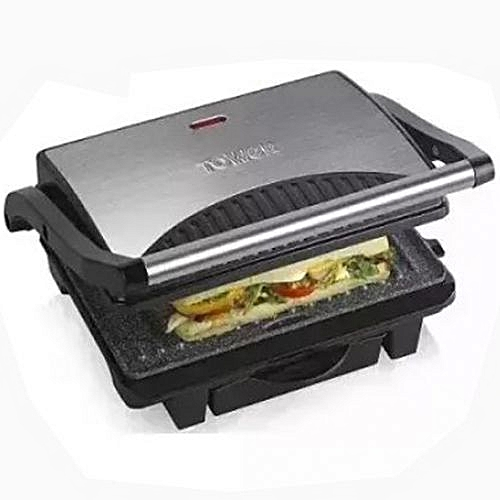 Tower T27009 Ceramic Health Grill And Griddle - Black
