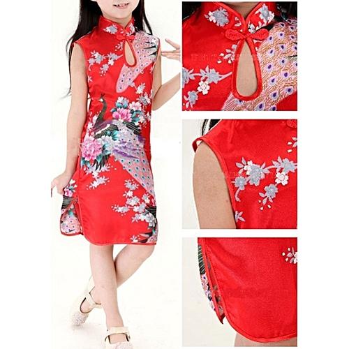 Hot New Stylish Chinese Kid Child Girl Baby Cheongsam Dress Qipao Ys 4~12