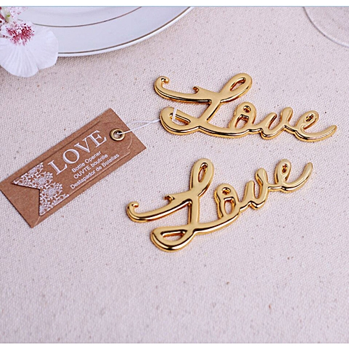 Watermalend Bottle Opener Love Shape Alloy Tool Wedding Party Gift Souvenirs