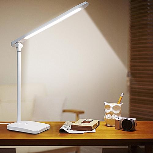 New 40PCS LED Desk Lamp Light 3 Light Colors Touch Switch Table Lamp Modern USB Foldable Study Lights Dimmer For Led Lamp 220V