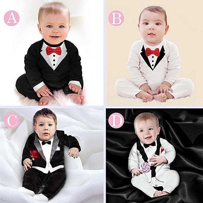 545a6d9c9 Fashion Comfortable Child Suits Cotton Jumpsuit Rompers Newborn Baby ...