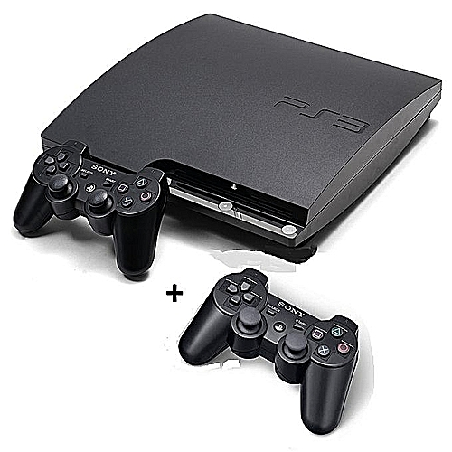Ps3 Slim Console 320Gb With 18 Games And 2 Controller