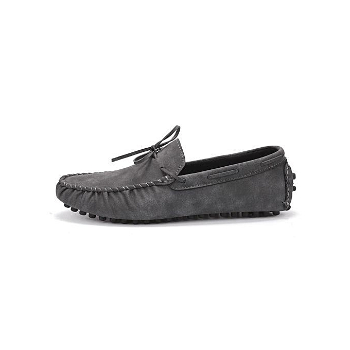 f344e114dfce1 Fashion Mens Dress Casual Loafers Shoes - Driving Shoes(grey ...