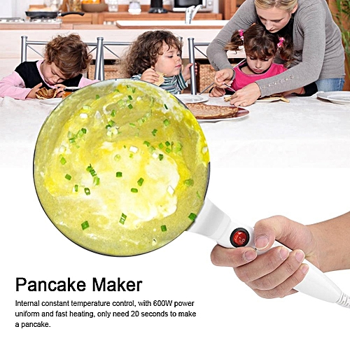 Electric Round Non-stick Pancake Maker Crepe Machine Frying Pan Pizza Baking Tools 220V