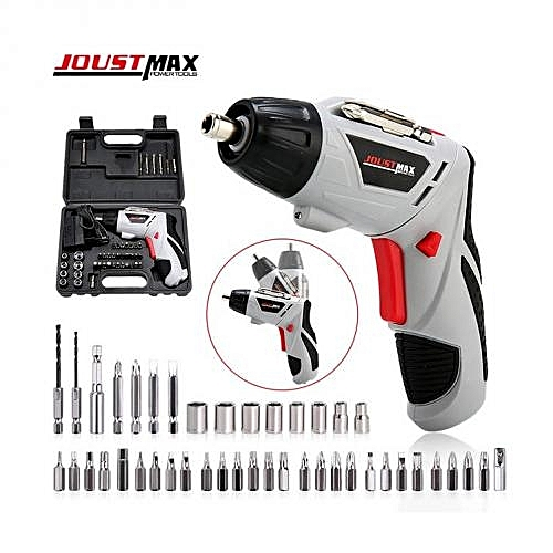 45 Bits Cordless Screwdriver. Rechargeable Kit Set ,Electric Drill Bits