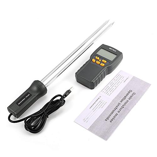 MD7822 Digital Grain Moisture Meter Temperature Thermometer Humidity Tester